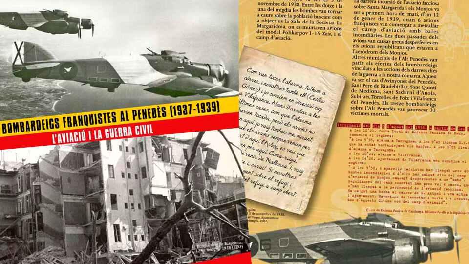 Els bombardeigs Franquistes al Penedès (1937-1939) L'aviació i la Guerra Civil