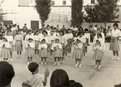 L'escola franquista pura i dura a Sitges