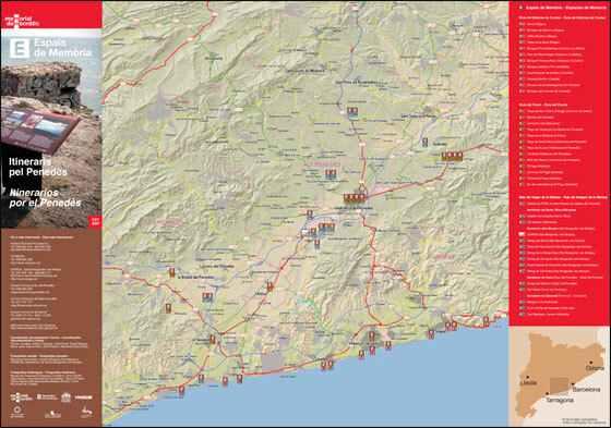 Itineraris de la Memòria Democràtica al Penedès