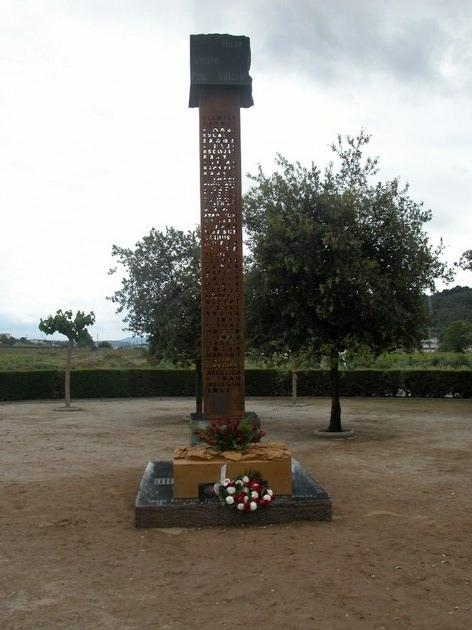 Memorial a les víctimes de la Guerra Civil...
