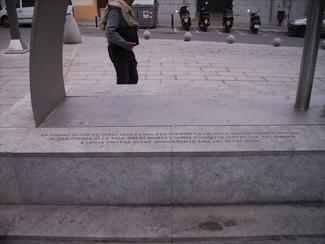 Memorial dels vilanovins als camps de concentració nazis...