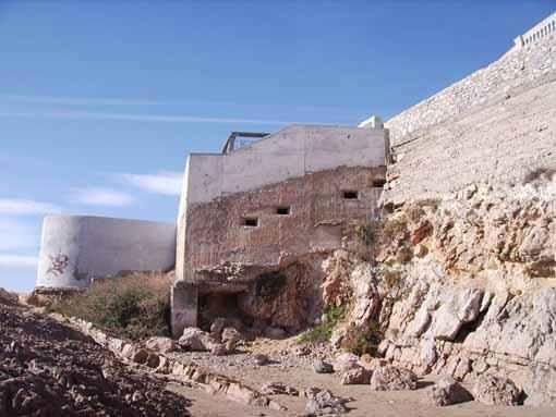Patrimoni Bèl·lic existent a la platja de Sant Gervasi de Vilanova i la Geltrú 2