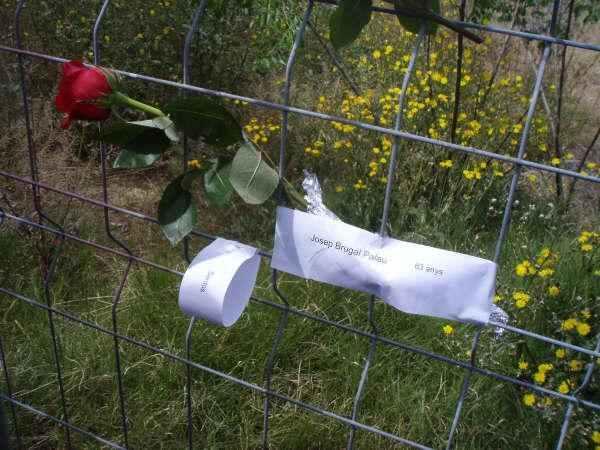 Homenatge a les victimes de la represió enterrades al cementiri de València