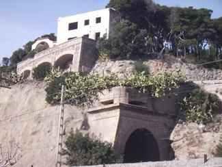 Patrimoni bèl·lic de Nius de metralladores de Sitges