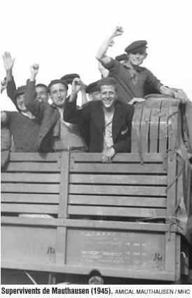 Nou cens de republicans deportats als camps nazis