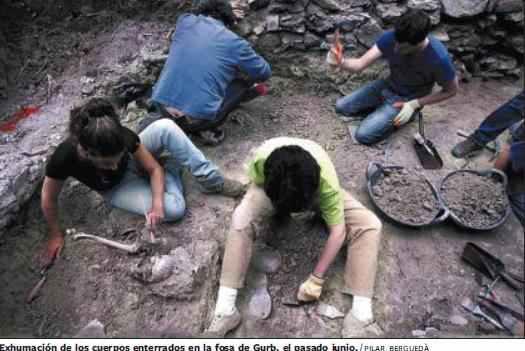Saura vol senyalitzar més que exhumar