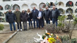 Homenatge a les víctimes de la Guerra Civil a Torrelles de Foix
