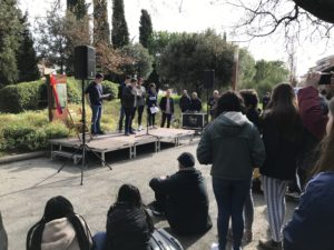 Homenatge a les víctimes dels camps nazis a Vilafranca del Penedès