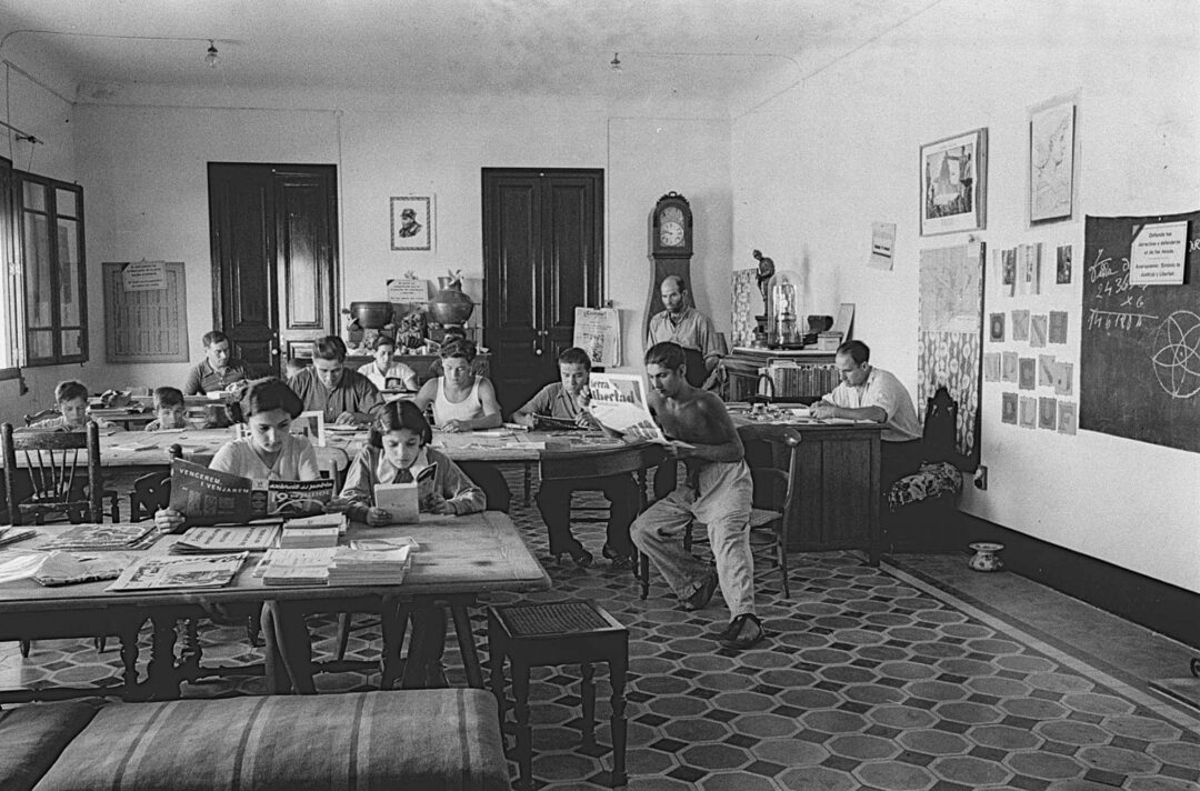 Col·lectivitat de La Múnia de Castellví de la Marca 1937...