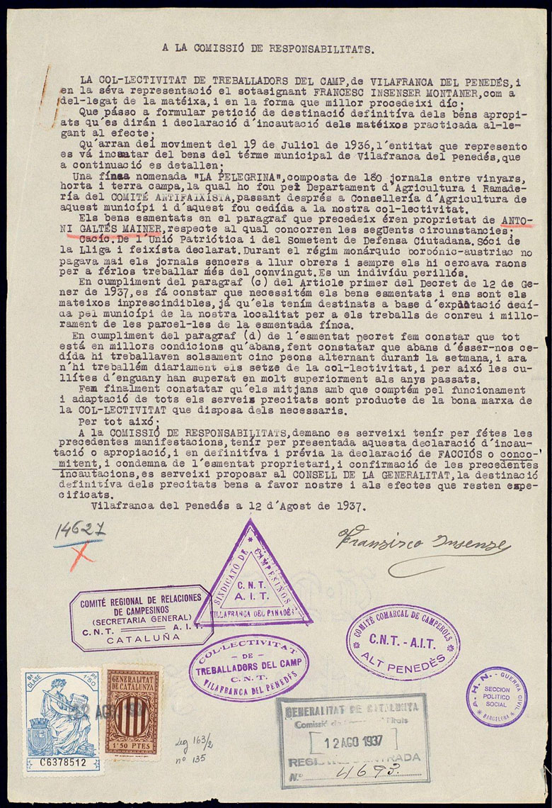 Col·lectivitat Vilafranca ANC...